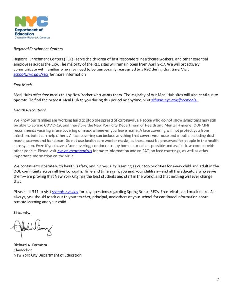 Coronavirus Update for Families-Spring Recess_April 3 2020-page-002